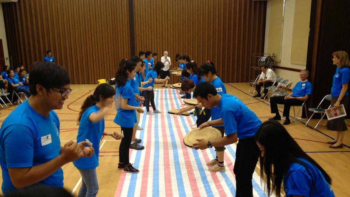 Buổi Đại Hội Nhóm Tuổi Trẻ Độc Thân Năm 2014