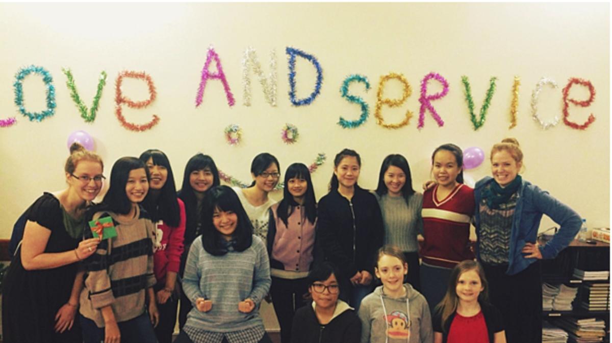 Hội Thiếu Nữ: Chúng Tôi là Một Gia Đình