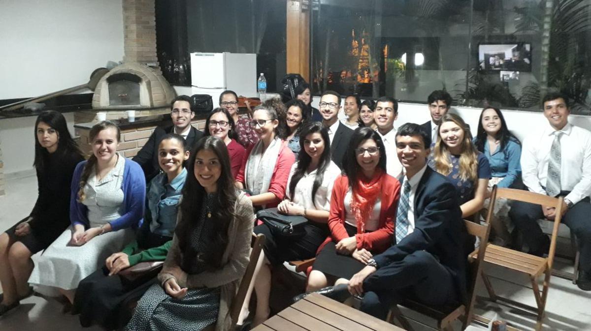 Noite Familiar com a Presidência da Área Brasil