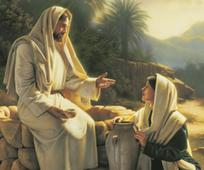 Jesus Cristo, o Filho de Deus, ensinando e mostrando o caminho que devemos viver.