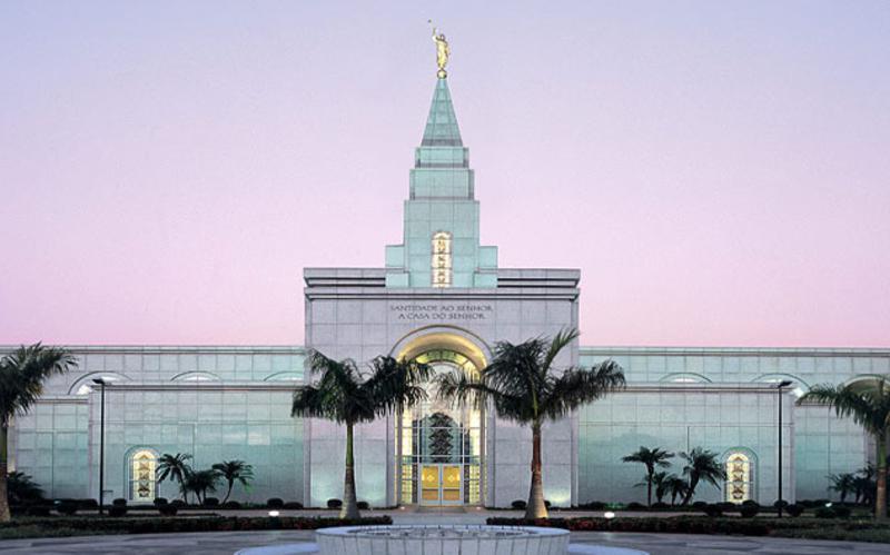 Templo Mórmon em Campinas.