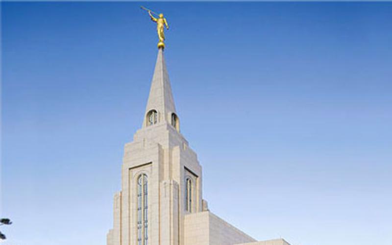 Templo Mórmon em Curitiba.
