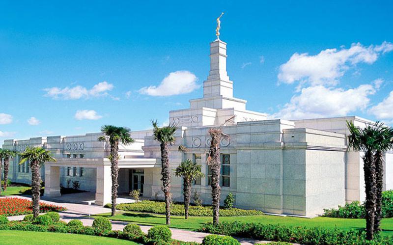 Templo Mórmon em Porto Alegre.