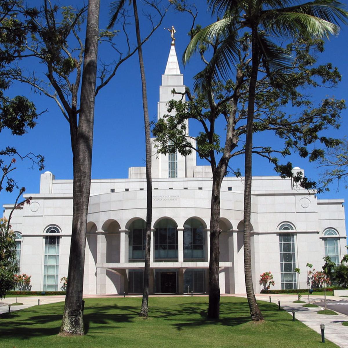 templo mormon na cidade de Recife
