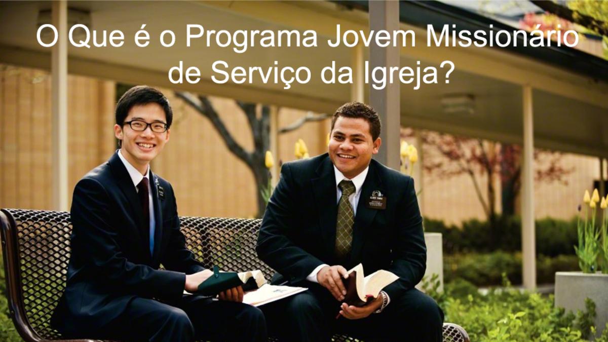 O que é o Programa Jovem Missionário de Serviço da Igreja