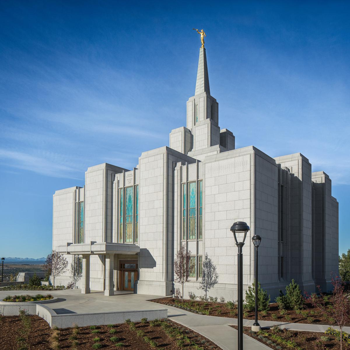 Image of the Calgary Mormon Temple