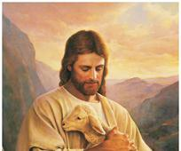 My Sheep That was Lost.photo.Jesus and Lamb.jpg