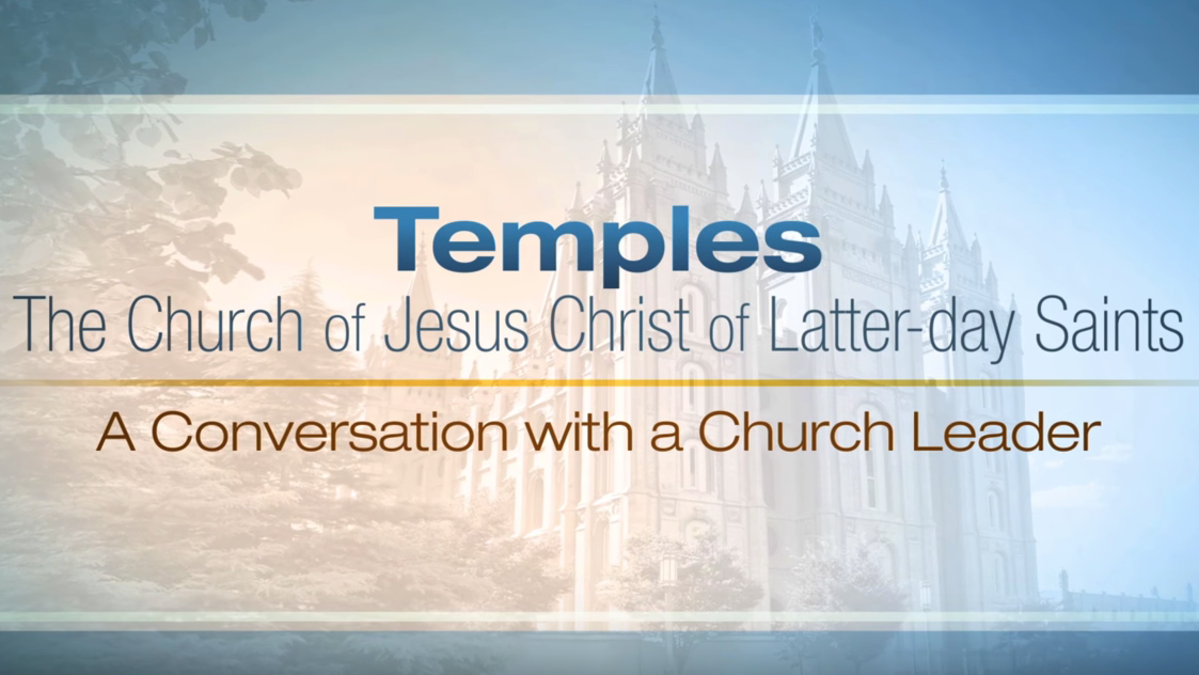 To see the inside of a temple take a tour of a Mormon Temple with a Church Leader