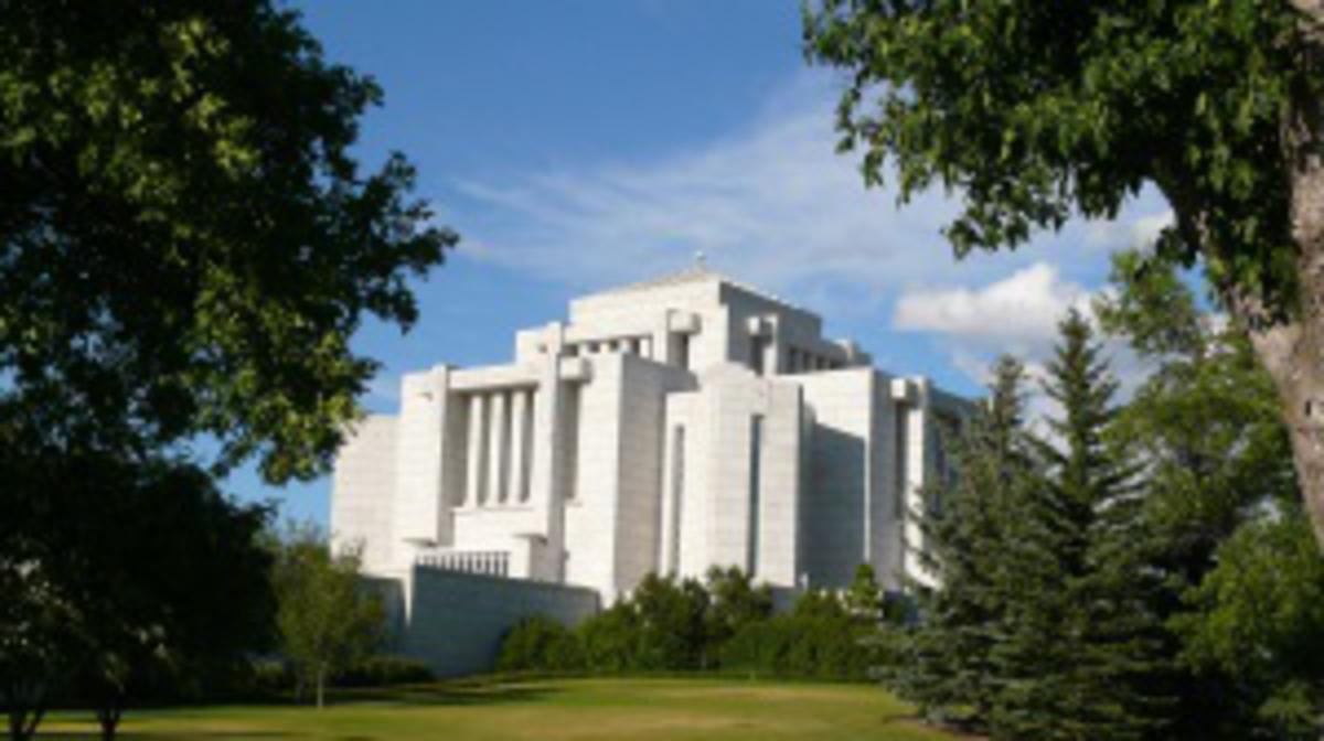 Photo of the Alberta Temple