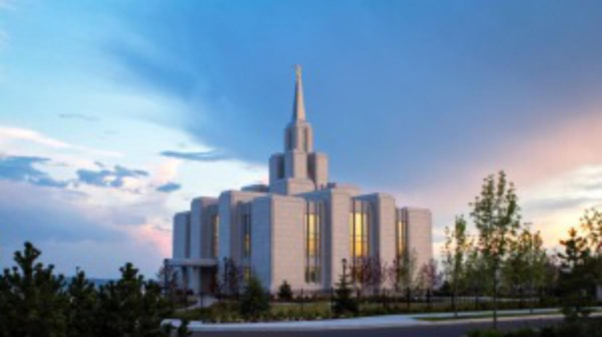 Photo the Calgary Temple