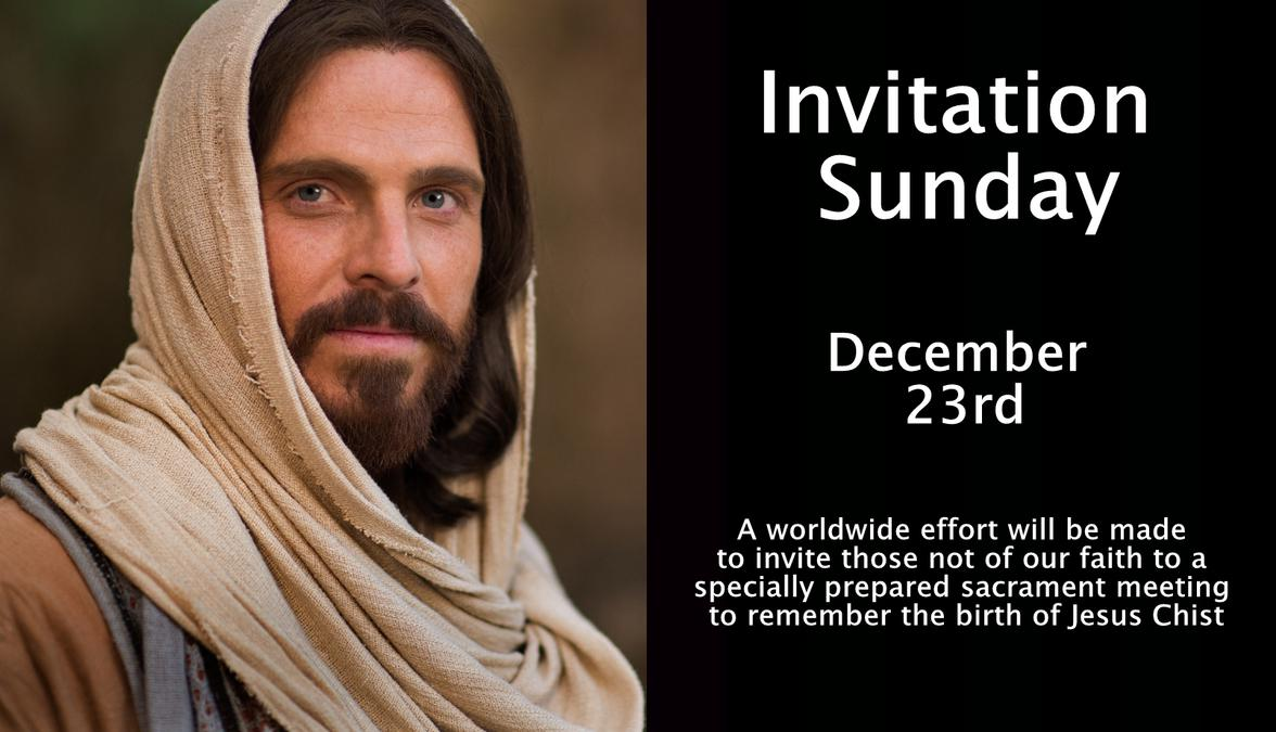 Invitation to church