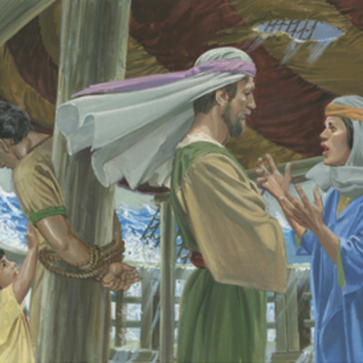 Nephi and wife