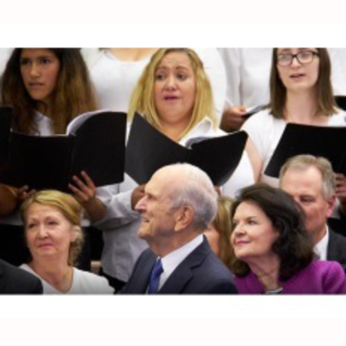 listening to choir