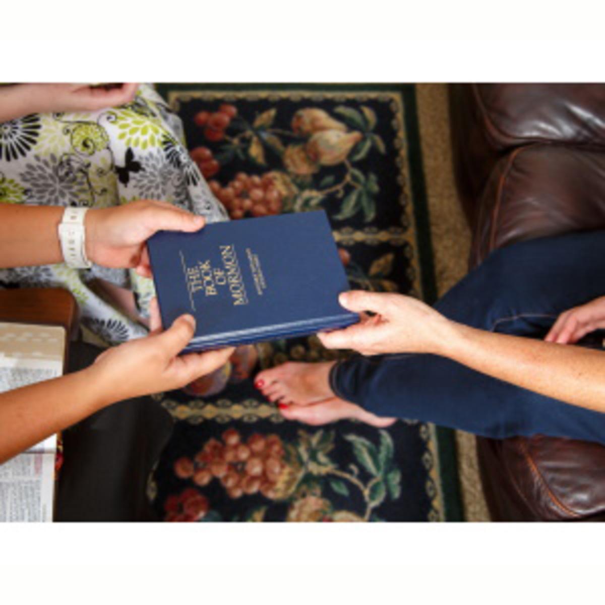 Sharing Book of Mormon