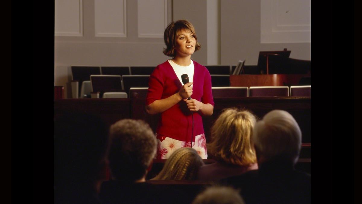 bearing testimony
