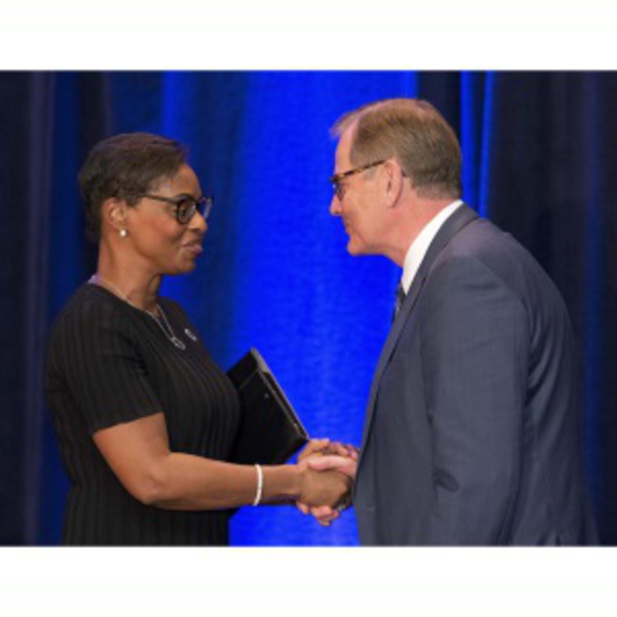 Church honours NAACP