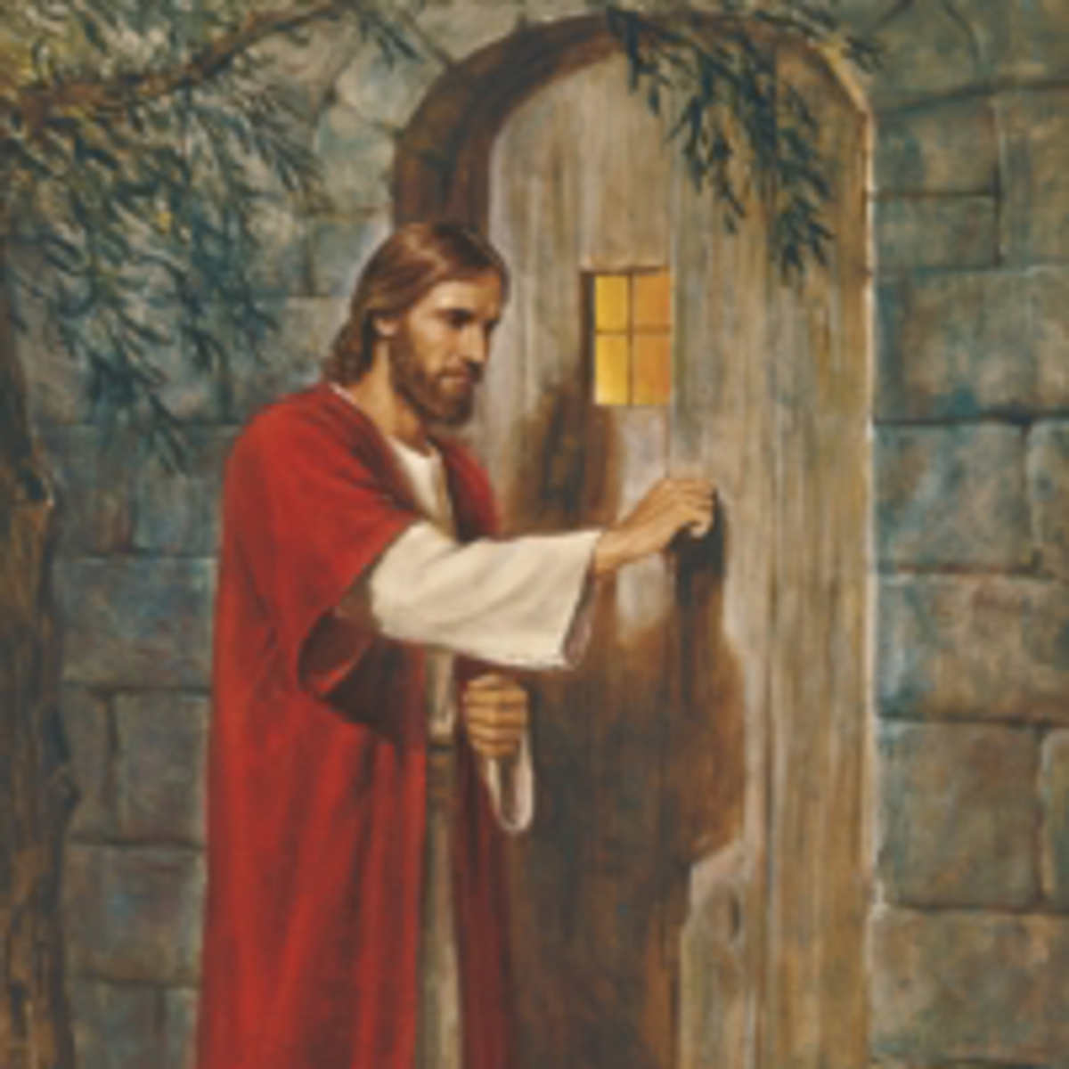 knocking at door