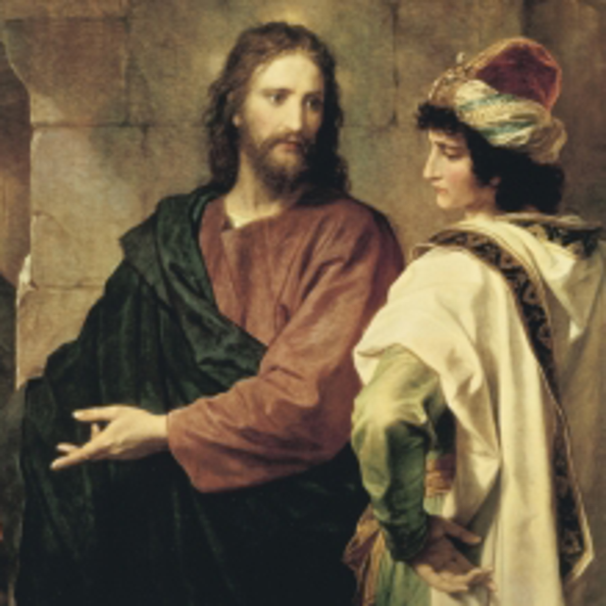 Jesus and rich man