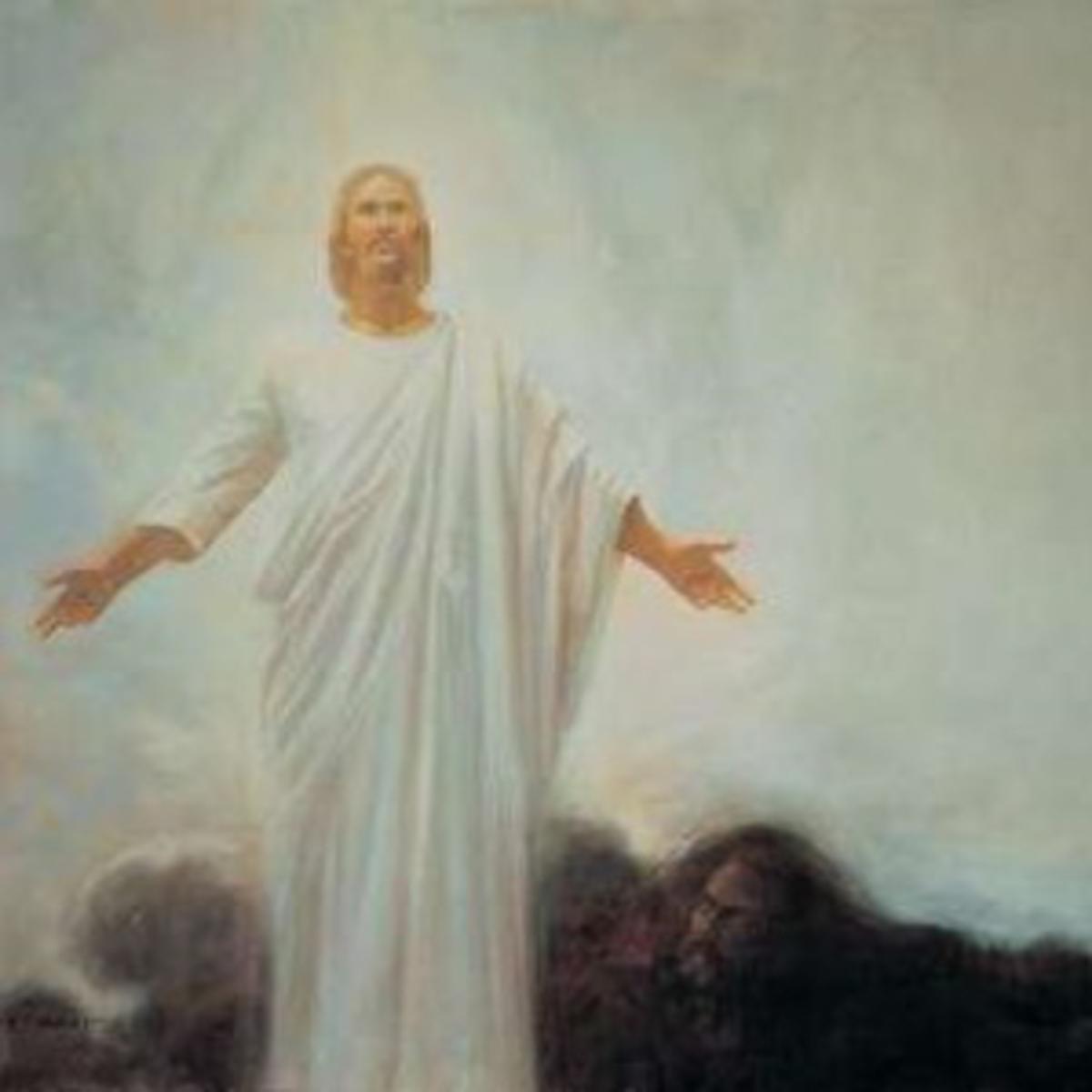 Christ triumphs over Satan