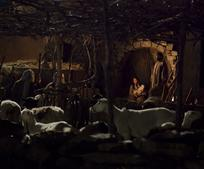 shepherds visiting the manger