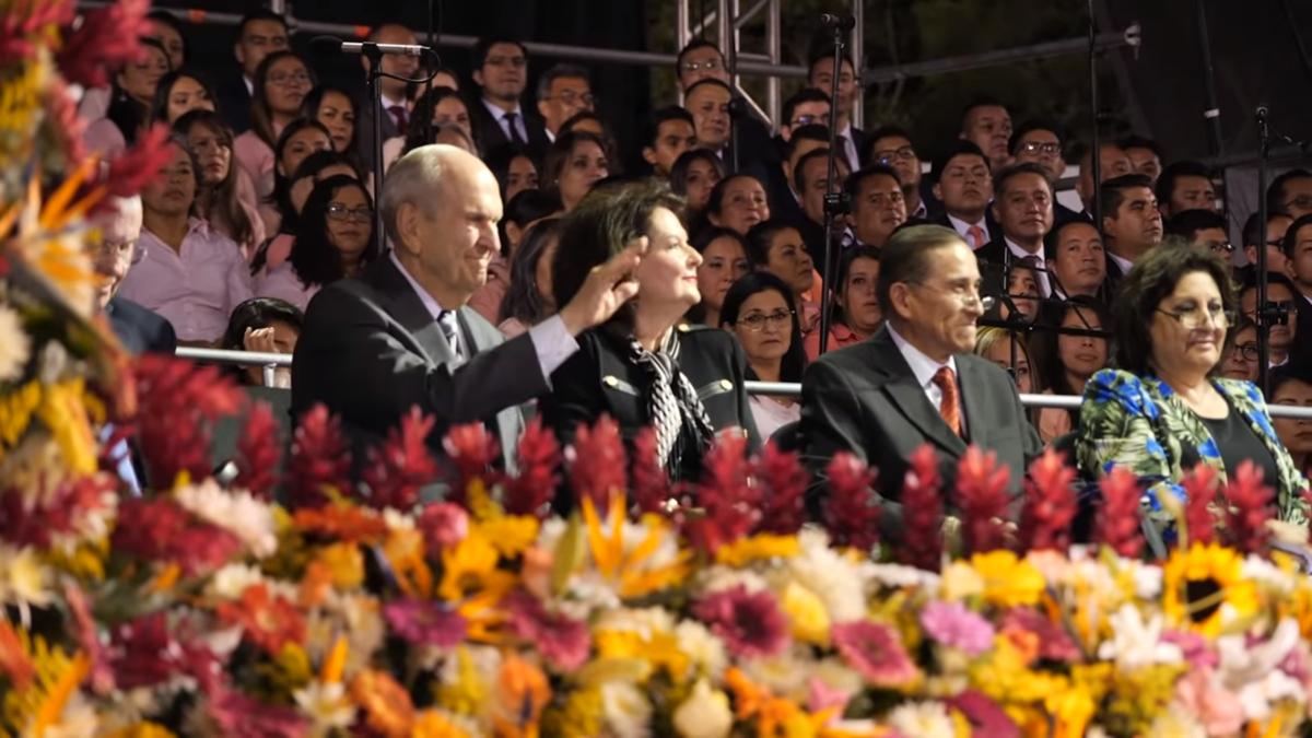 Prophet Counsels Guatemalan Saints