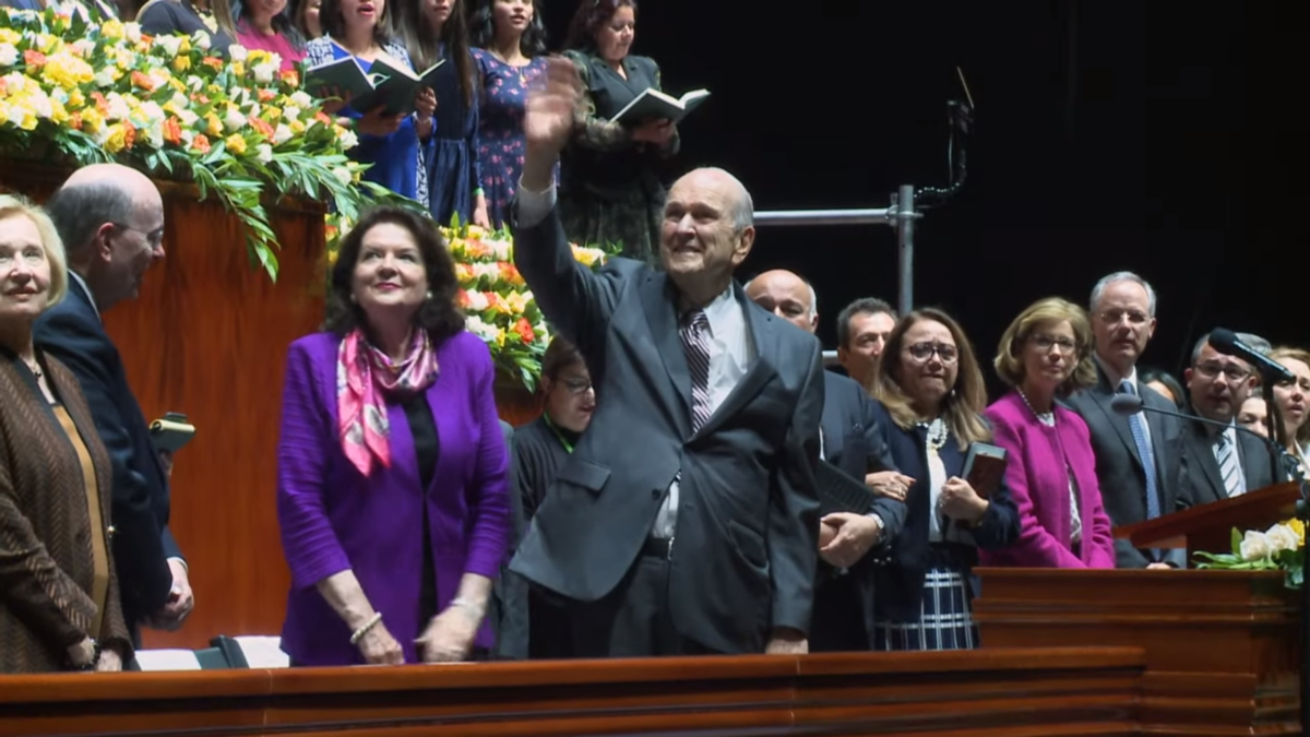 President Nelson Reminds Columbians