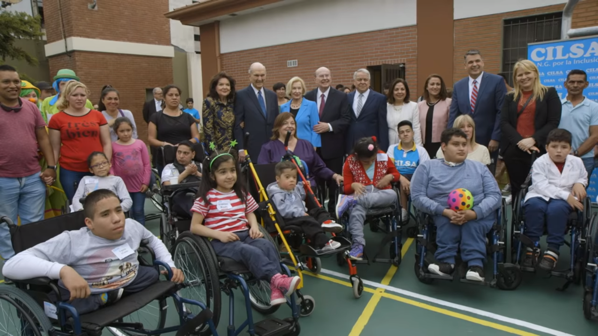 President Nelson Ministers One by One