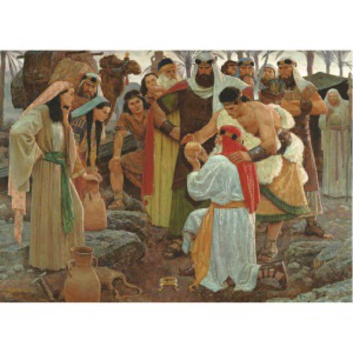 finding the liahona