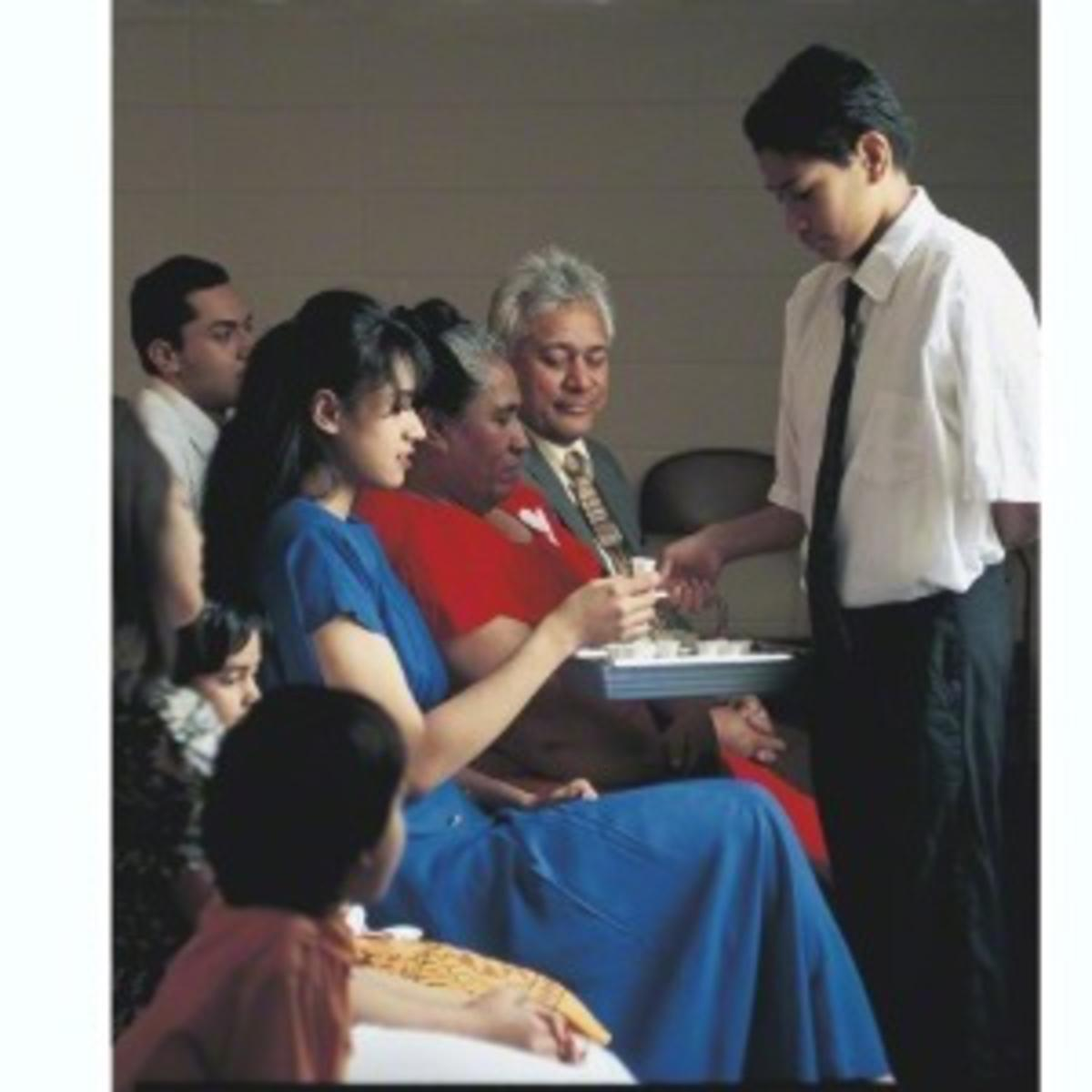 partaking of the sacrament