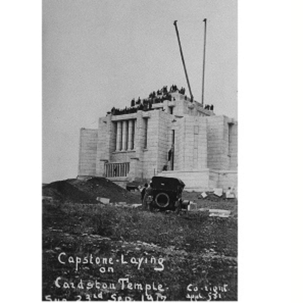 Cardston temple