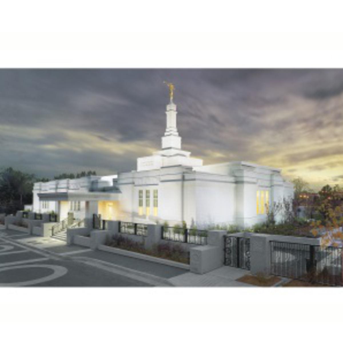 Edmonton temple