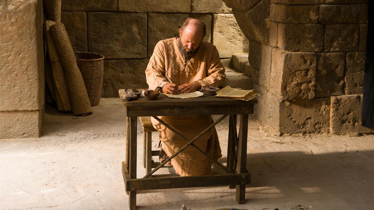 Paul writing