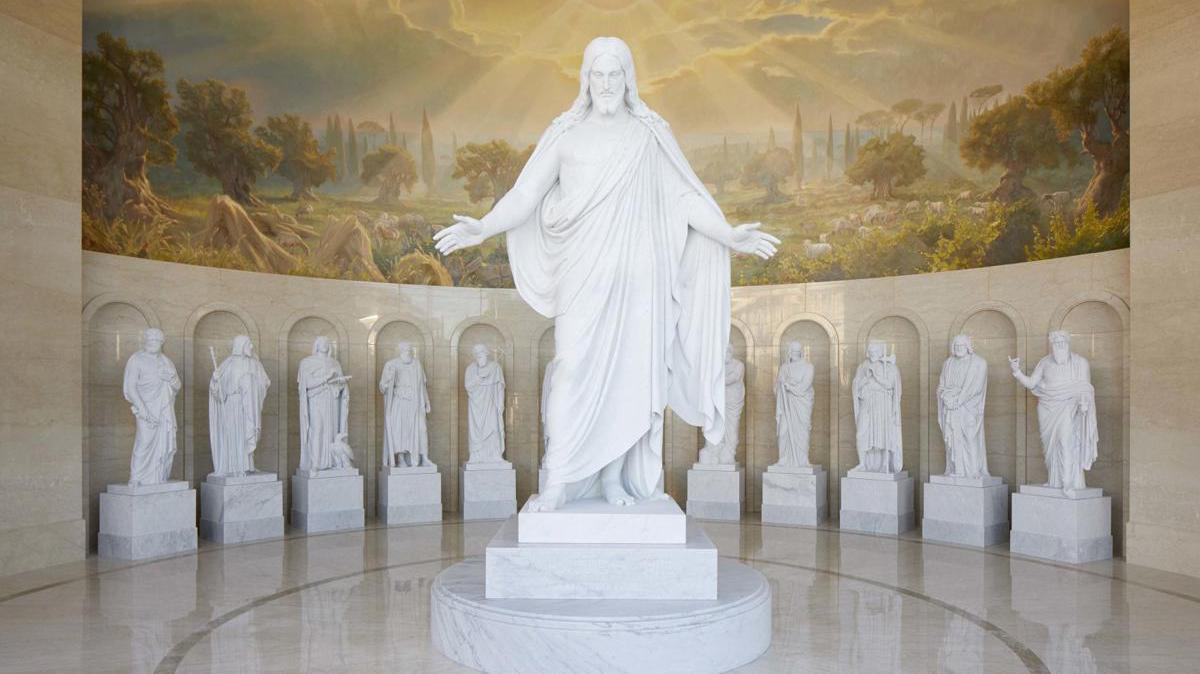 Rome temple Christus