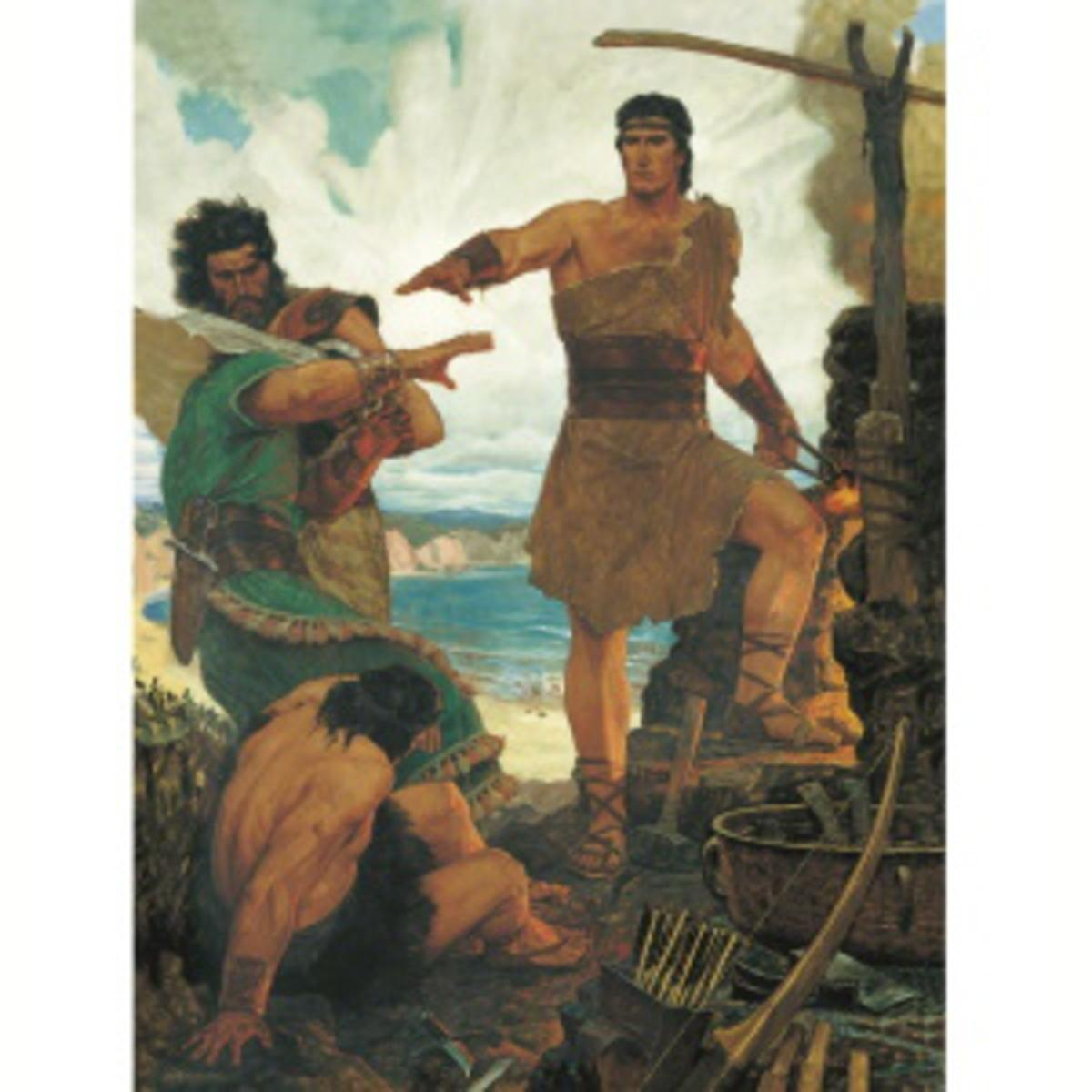 Nephi's rebellious brothers