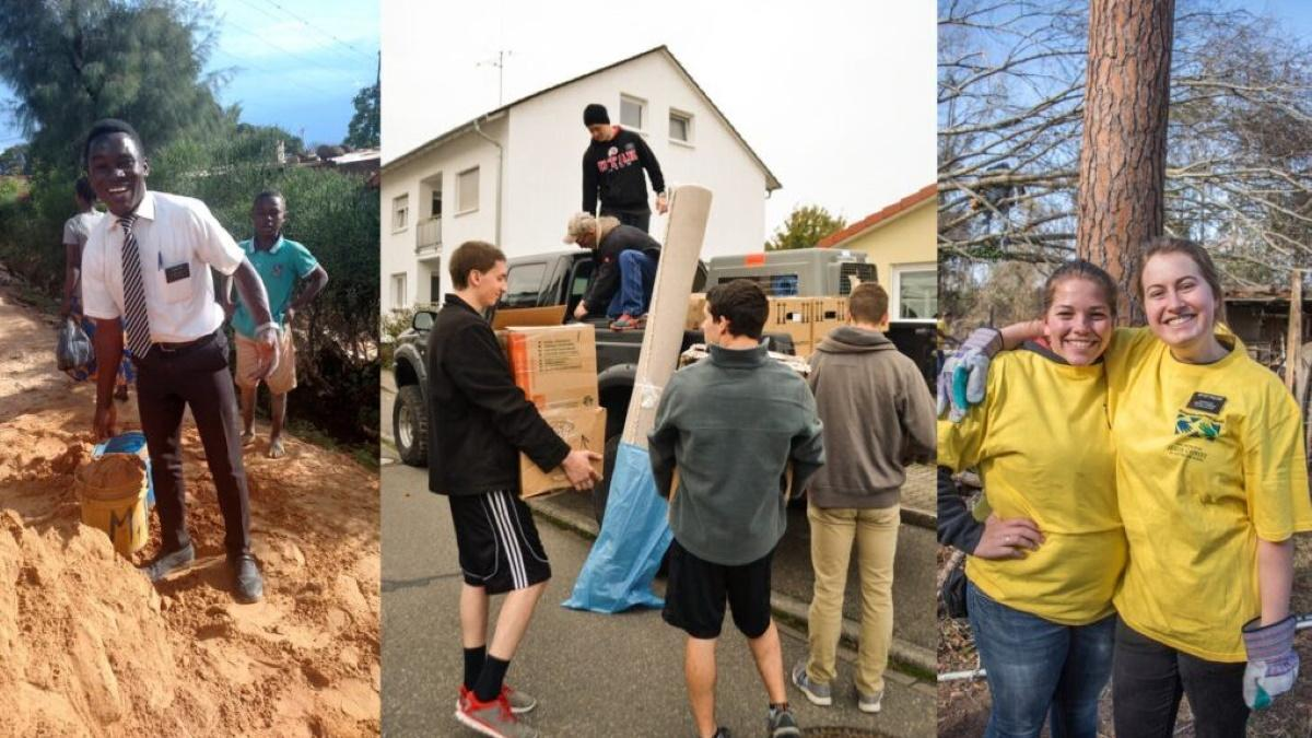 Missionaries Helping