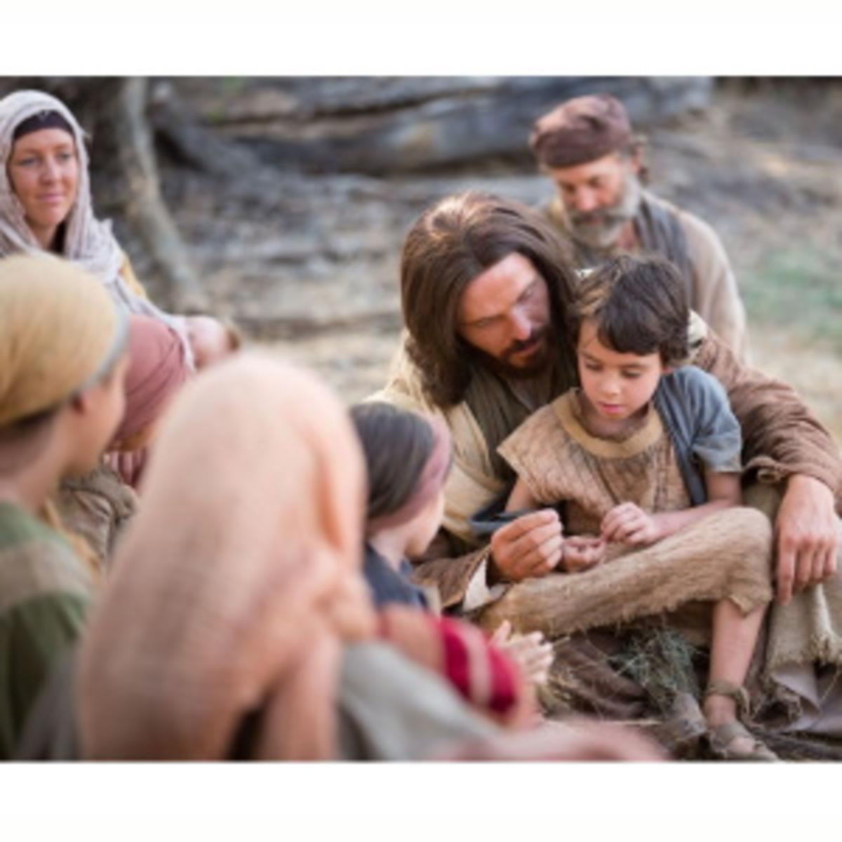Jesus with children