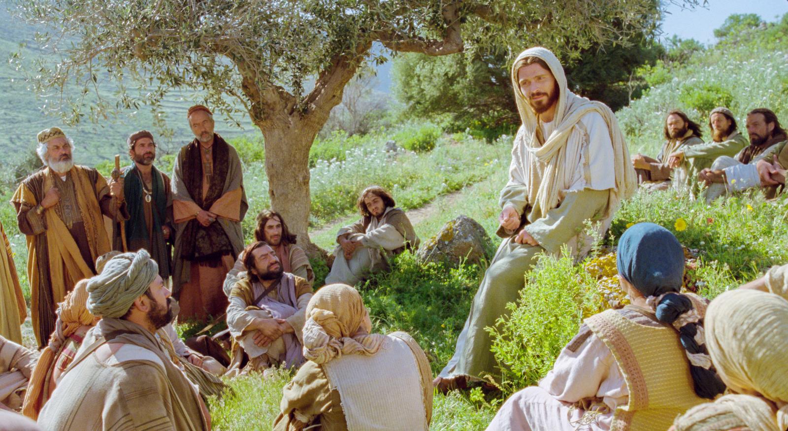 Картинка иисус и ученики