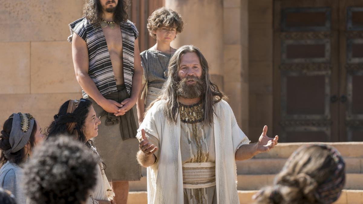 Jacob teaches Nephites