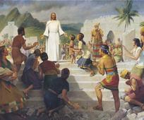 Jesus among the Nephites