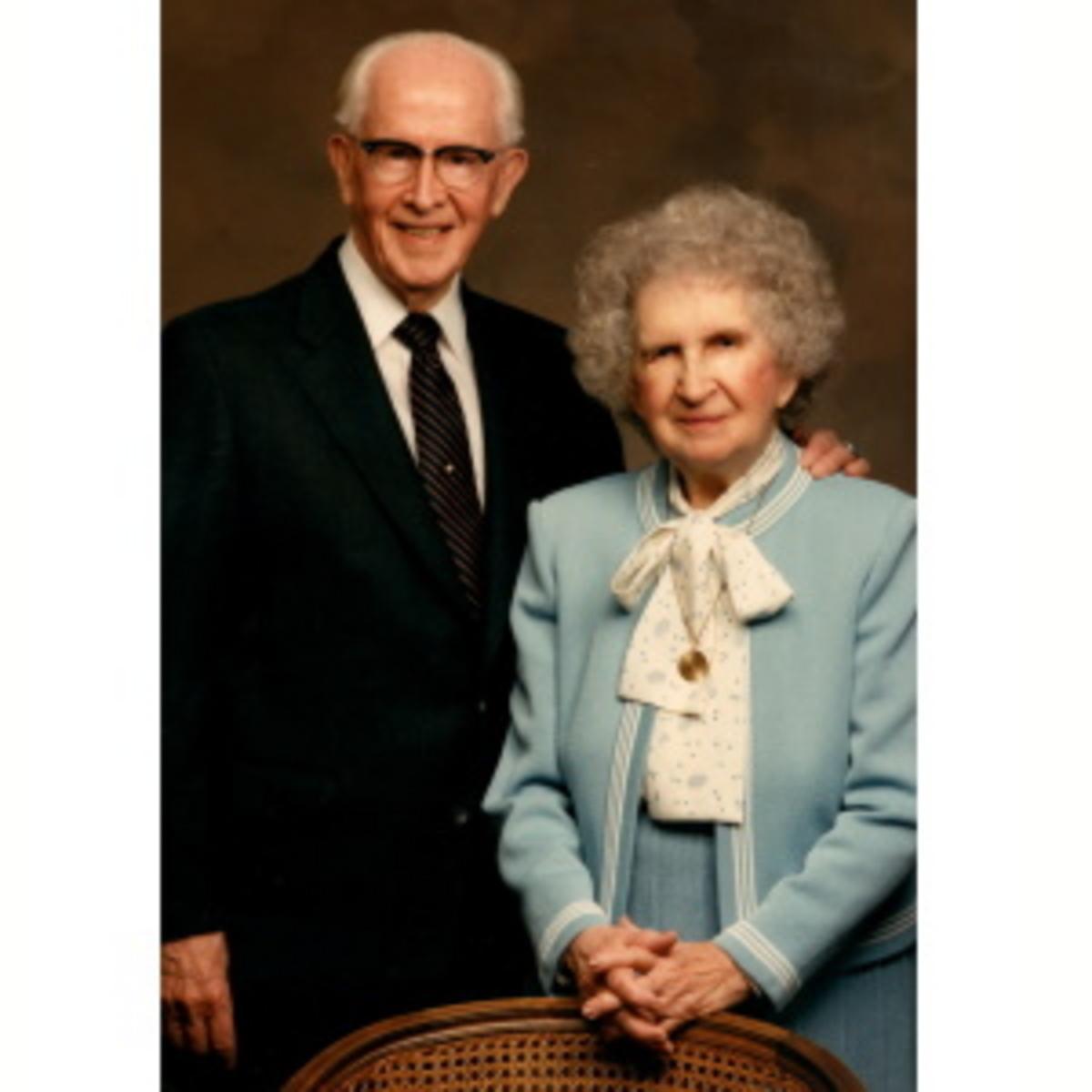 Ezra and Flora Benson