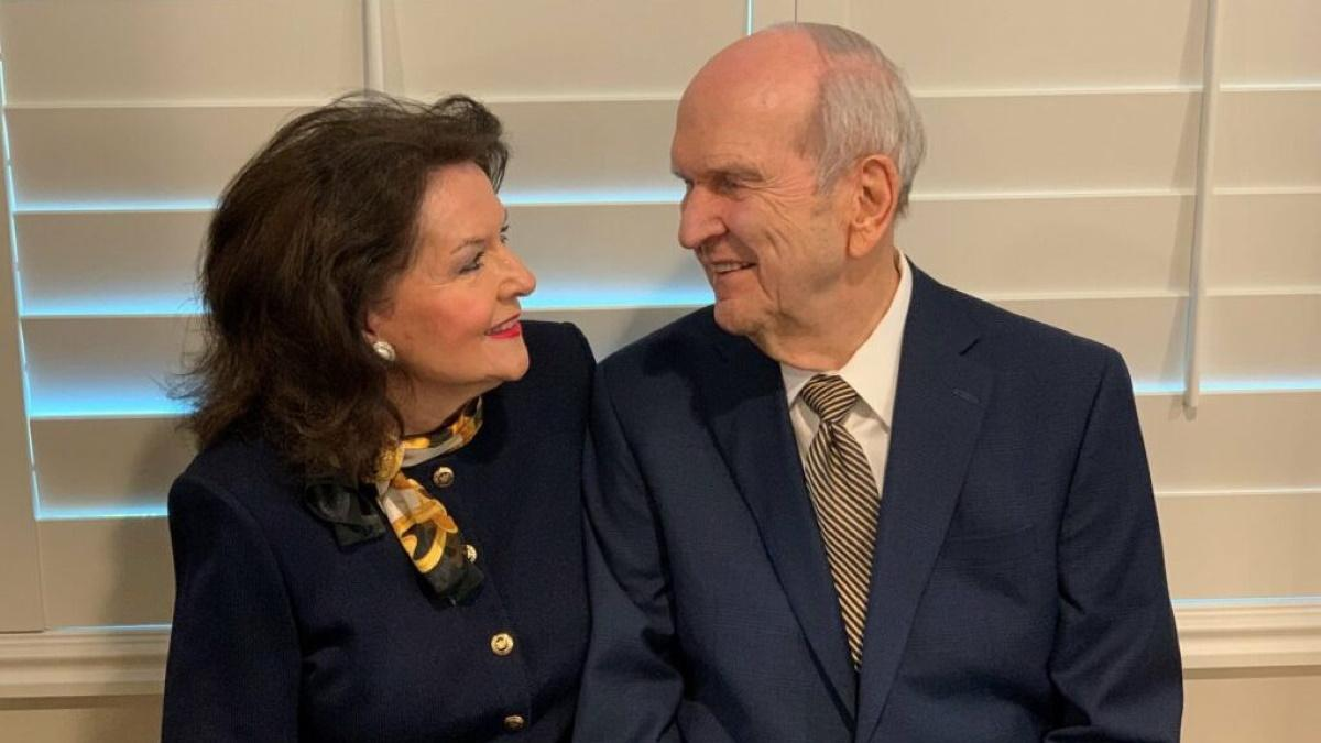 President Nelson on sacrament at home