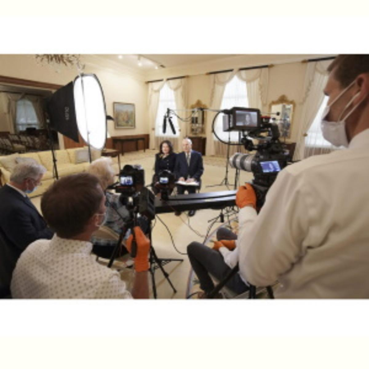 Interviewing President Nelson