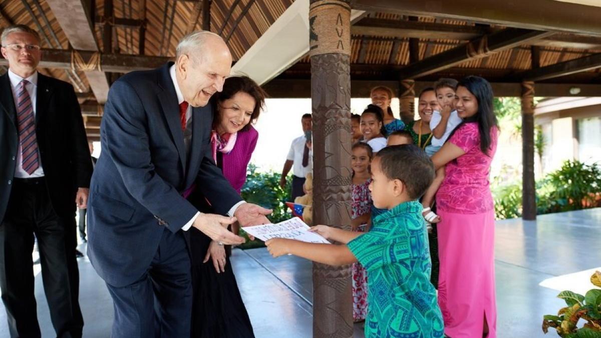President Nelson in Samoa