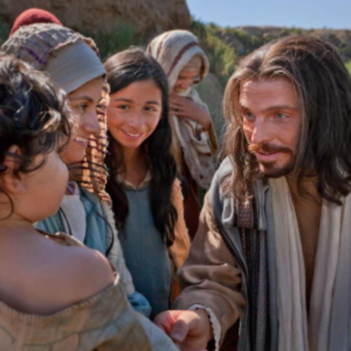 Jesus and Chrildren