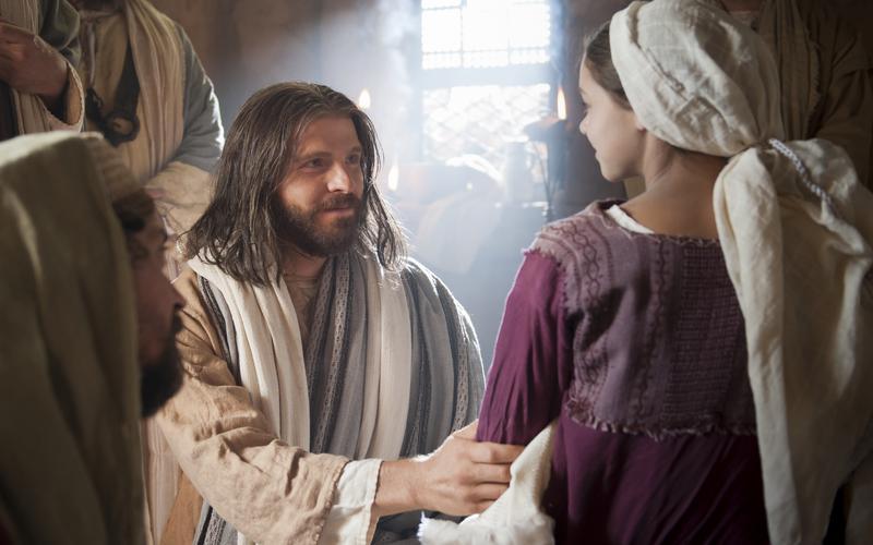 Jesucristo y la hija de Jairo