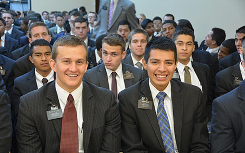 Futuros misioneros SUD