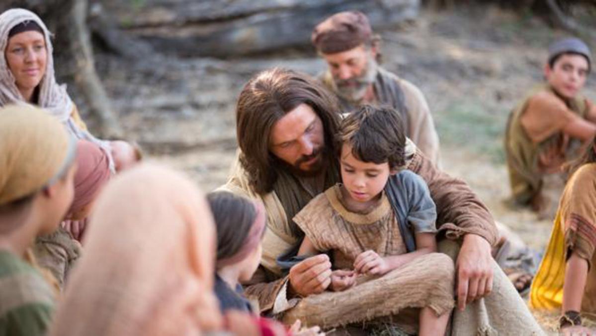 Jésus avec un enfant