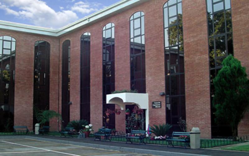 El centro de capacitación misional de Guatemala.