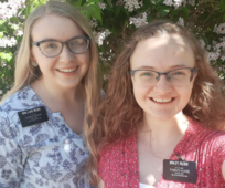 Two sister missionaries