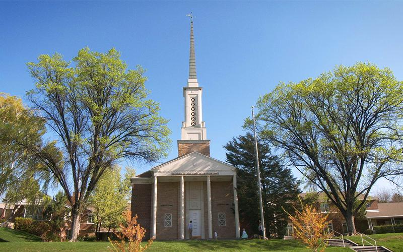Egyházi épület képe